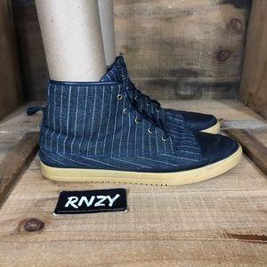 Clae Chambers Pinstripe Sneakers